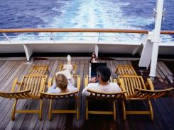 Most cruises supply Wi-Fi, but it usually isn't cheap or fast.