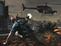 An image from the upcoming video game 'Max Payne 3.'