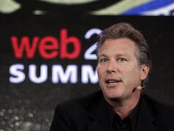 Yahoo's new interim CEO, Ross Levinsohn, speaks at the 2011 Web 2.0 Summit in San Francisco.
