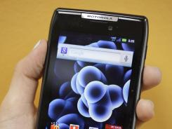 The Motorola Droid Razr sells for between $200 and $300 with a contract, and makes a great gift for a dad or grad.