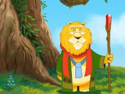 'Magic Town' uses a wise lion as a storyteller who gives children a new book to read every day.