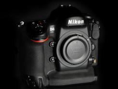 The Nikon D4.