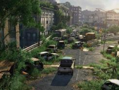 A scene from 'The Last of Us.'