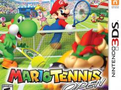 Try to ace Mario in 'Mario Tennis Open.'