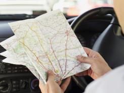 There are better options than paper maps for those lost on the road.