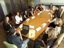 Female Silicon Valley executives convene in San Francisco with reporter Jon Swartz.