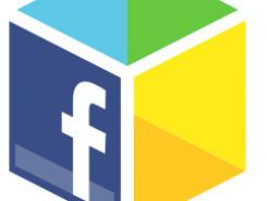 Facebook's logo for its new App Center.