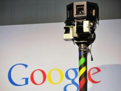 The camera used on Google's street view car.