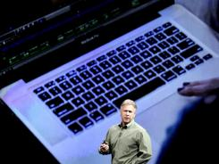 Apple executive: Phil Schiller talks about new features coming on MacBooks.