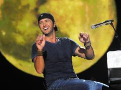 Luke Bryan at the CMA Music Festival.