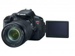 Canon Rebel T4i:  Users no longer have to keep your finger on the focus button.