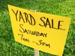 You can hold a yard sale the old-fashioned way, or do it with an app.
