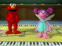 Elmo and Abby lead kids on a musical romp with plenty of physical activity in 'Sesame Street: Elmo's Musical Monsterpiece.'
