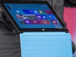 Microsoft's Surface tablet will compete with Apple's iPad.