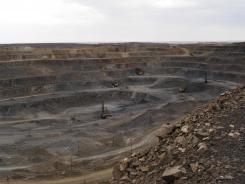China continues to limit the export of rare earths, harvested from mines such as this one in the Baiyunebo mining district of Baotou.