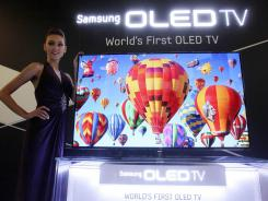 Samsung is investing in new TVs, like this 55-inch OLED, that promises an even thinner screen and imagery of eye-popping clarity.