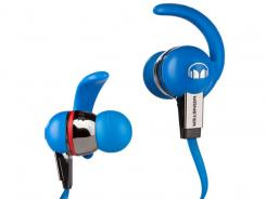 These earbuds from Monster Cable deliver great sound but sometimes come loose during high activity.