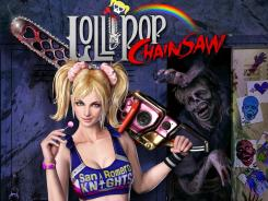 'Lollipop Chainsaw' stars a teenage zombie hunter who carries her boyfriend's disembodied head on her waist.