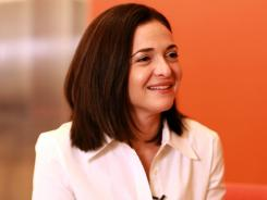 Facebook COO Sheryl Sandberg joined Facebook from Google in 2008.