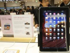 Samsung's Galaxy Tab 10.1.