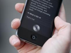 You can use Siri to speak text directly to your smartphone.
