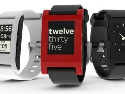 A screengrab from Pebble's video on Kickstarter.