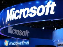 Microsoft on Monday said it would take a $6.2 billion charge for its online advertising business.
