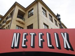 The exterior of Netflix headquarters in Los Gatos, Calif.
