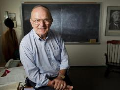 University of Rochester physicist Dr. Carl Richard Hagen is photographed in his office on Sept. 28, 2010.