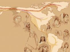 Native Americans arrived in the Americas in three waves of Ice Age migration, suggests a new genetic study in the journal Nature.