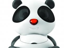 Sing Sing the Panda is a portable docking station for your iPod or iPhone.
