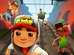 'Subway Surfers' places you as a graffiti artist who gets caught vandalizing a train.