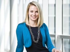 Marissa Mayer, then vice president of search and user experiences at Google, is photographed on the Google campus in Mountain View, Calif.