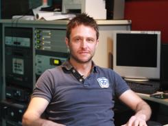 Chris Hardwick, host of the popular Nerdist podcast.