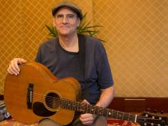 Musician James Taylor.