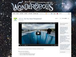 A screenshot of Wonderopolis.org.