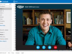 In the future: Microsoft plans to let you do Skype video calls from your inbox.