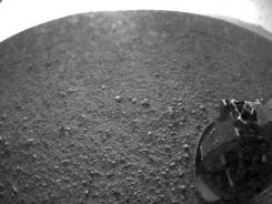 NASA's Curiosity rover transmitted this image to Earth after landing successfully on Mars at about 1:30 a.m EDT.
