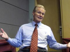 Sen. Bill Nelson, D-Fla., is one of NASA's most ardent supporters.