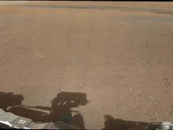 This image, provided by NASA, shows the first 360-degree color panorama taken on Mars by NASA's Curiosity rover.
