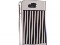 This case has a sliding shutter that protects your phone's touchscreen.