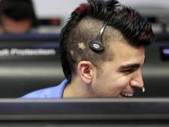 Bobak Ferdowsi, flight director for the Mars rover Curiosity.