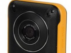 Samsung's waterproof HMX-W300 pocket camcorder.