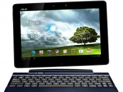 The ASUS Transformer Pad TF300T.