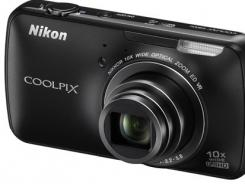 The Nikon Coolpix S800c with Google's 'Gingerbread' Android operating system.