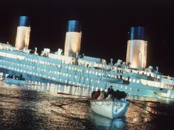 James Cameron's epic Titanic is among films slated for release on Blu-ray.