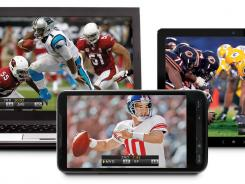 NFL action will be available from select services on multiple devices including laptop, smartphone, tablet and television.