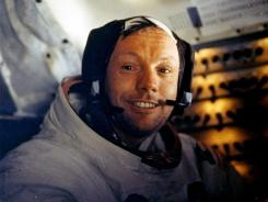 Neil Armstrong, on July 20, 1969.