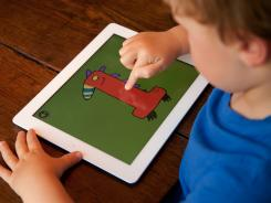 "The ""Little Digits"" app teaches kids how to count and do simple addition and subtraction."