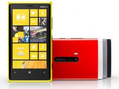 The new Nokia Lumia 920 Windows 8 smartphone.
